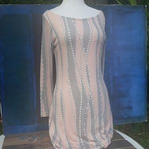 Nurture Anthropologie Pearl print dress small